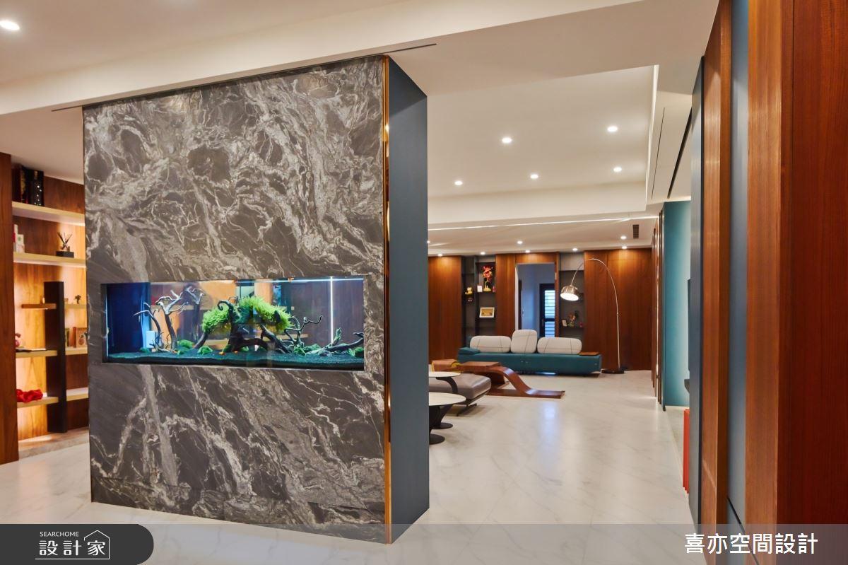 160坪新成屋(5年以下)_現代風客廳案例圖片_喜亦空間設計_喜亦_03之2