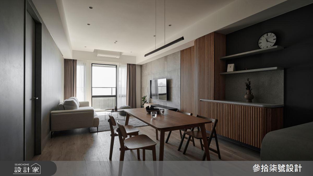26坪新成屋(5年以下)_北歐風餐廳案例圖片_參拾柒號設計_參拾柒號_01之2