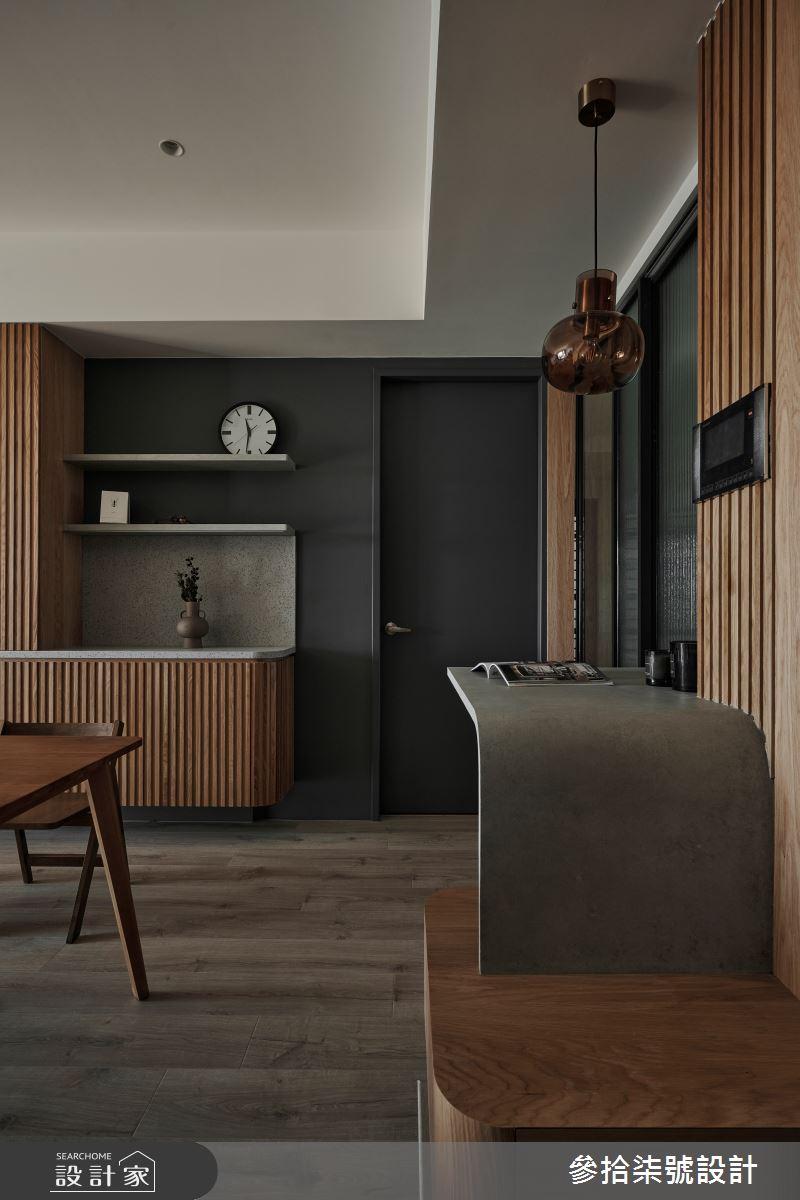 26坪新成屋(5年以下)_北歐風餐廳案例圖片_參拾柒號設計_參拾柒號_01之4