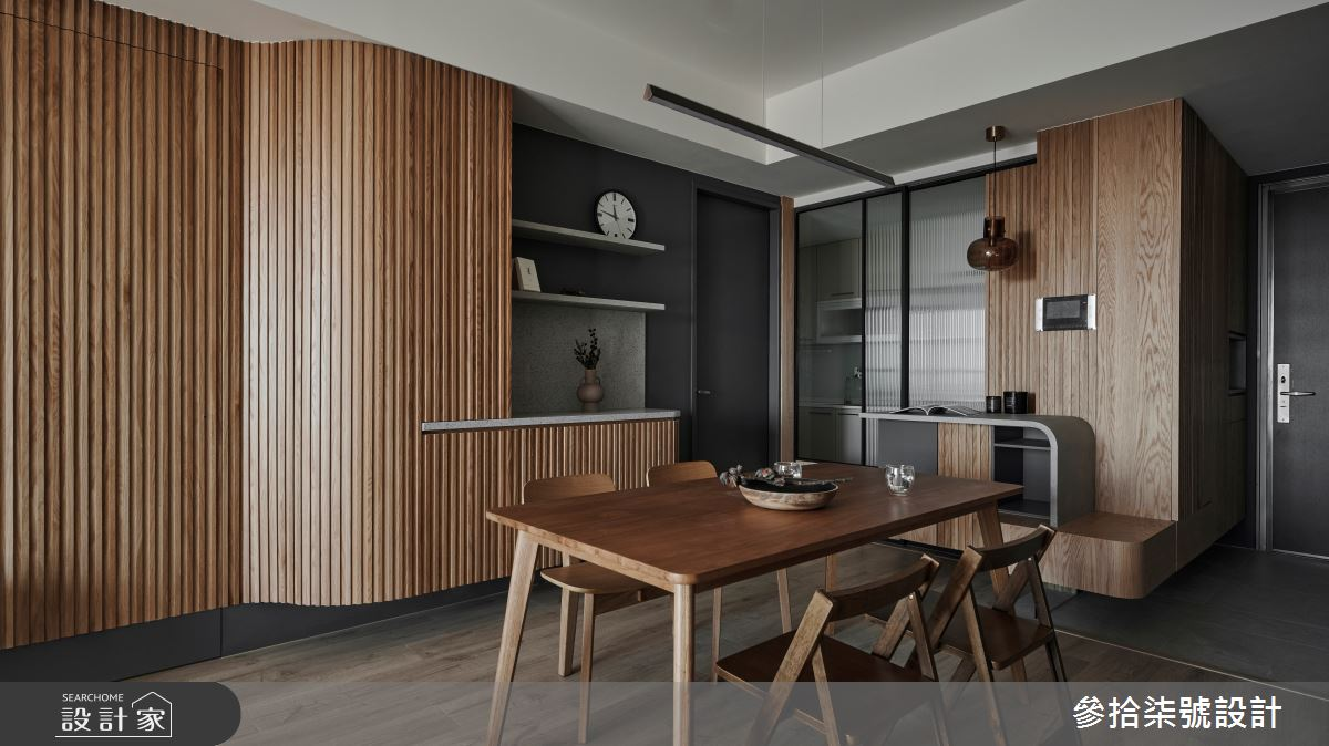 26坪新成屋(5年以下)_北歐風餐廳案例圖片_參拾柒號設計_參拾柒號_01之3