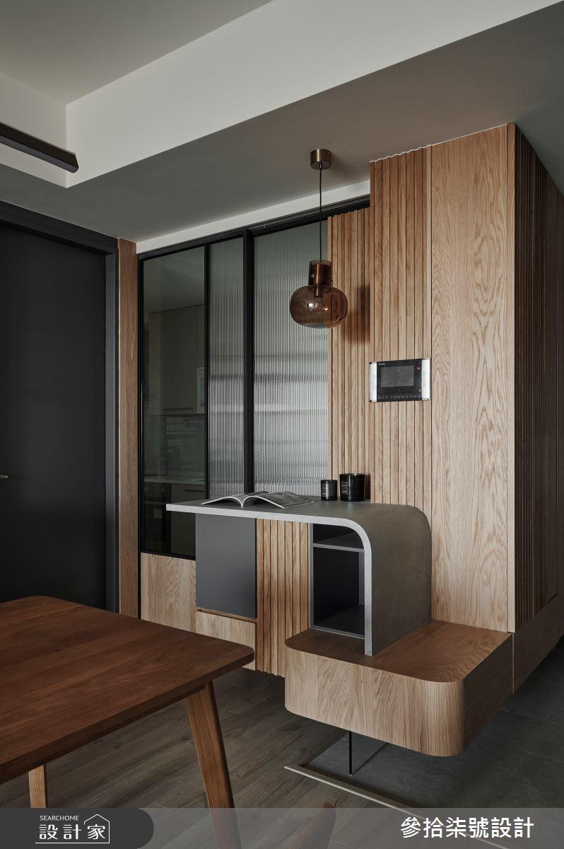 26坪新成屋(5年以下)_北歐風餐廳案例圖片_參拾柒號設計_參拾柒號_01之5