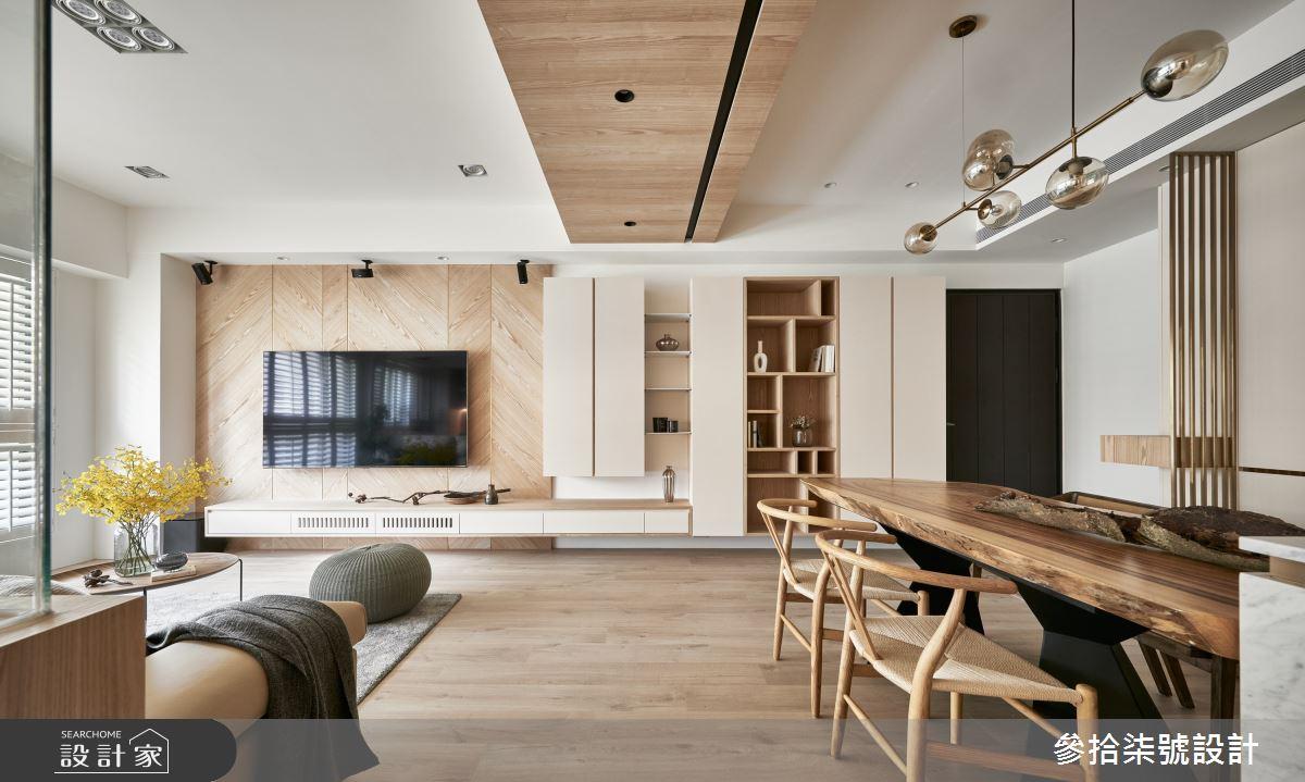 37坪新成屋(5年以下)_北歐風餐廳案例圖片_參拾柒號設計_參拾柒號_03之4