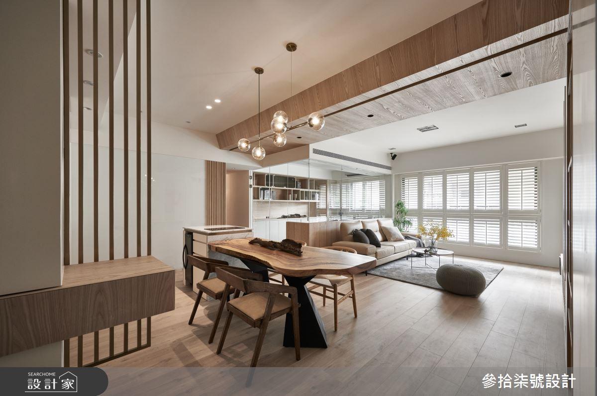 37坪新成屋(5年以下)_北歐風餐廳案例圖片_參拾柒號設計_參拾柒號_03之2