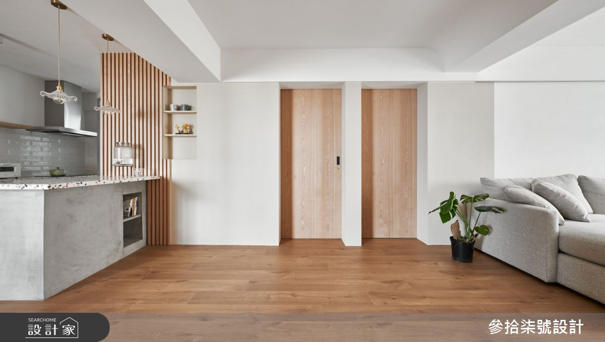 28坪老屋(31~40年)_北歐風走廊案例圖片_參拾柒號設計_參拾柒號_04之12
