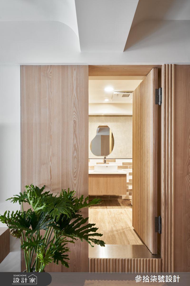 28坪老屋(31~40年)_北歐風浴室案例圖片_參拾柒號設計_參拾柒號_04之10
