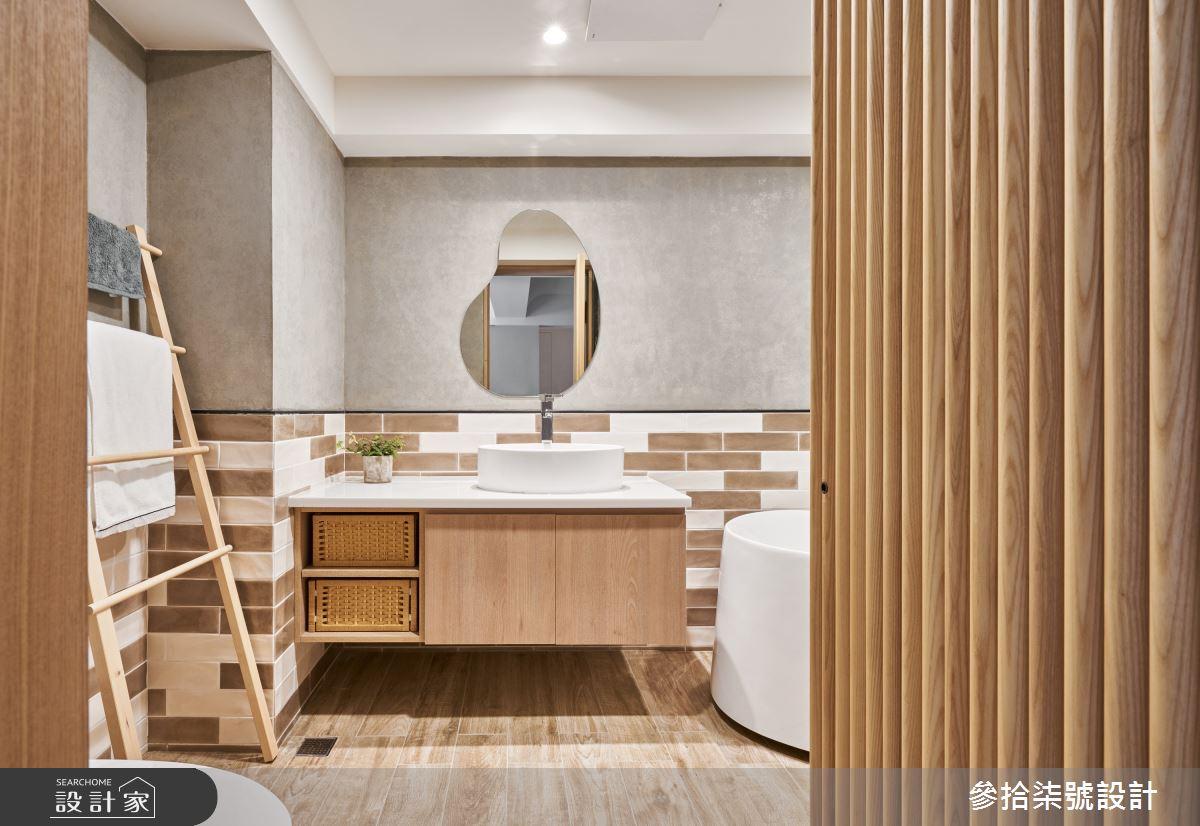 28坪老屋(31~40年)_北歐風浴室案例圖片_參拾柒號設計_參拾柒號_04之11