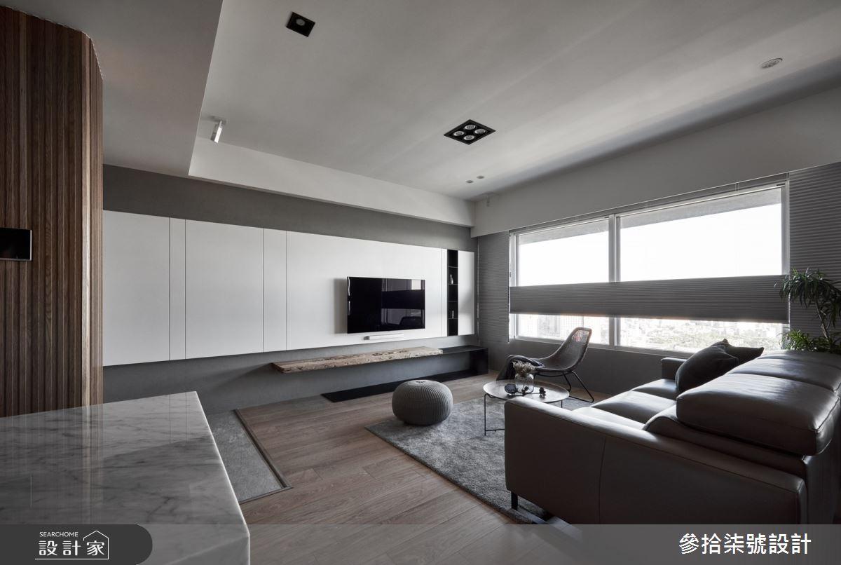 30坪新成屋(5年以下)_北歐風客廳案例圖片_參拾柒號設計_參拾柒號_06之2