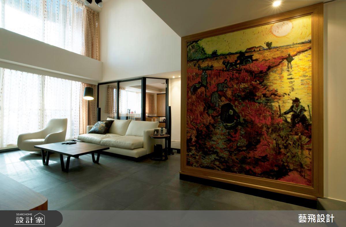 70坪老屋(16~30年)_現代風客廳案例圖片_藝飛室內設計有限公司_藝飛_03之3