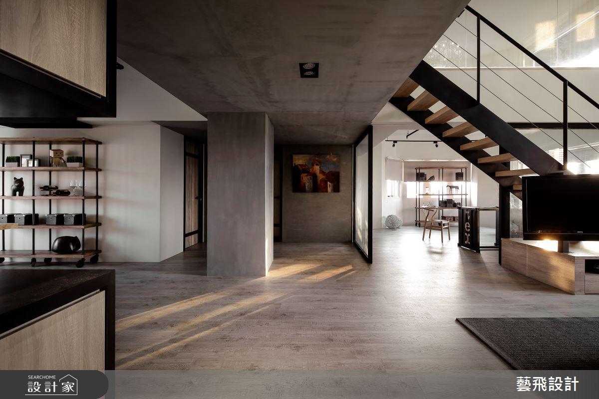 84坪老屋(16~30年)_工業風案例圖片_藝飛室內設計有限公司_藝飛_08之2