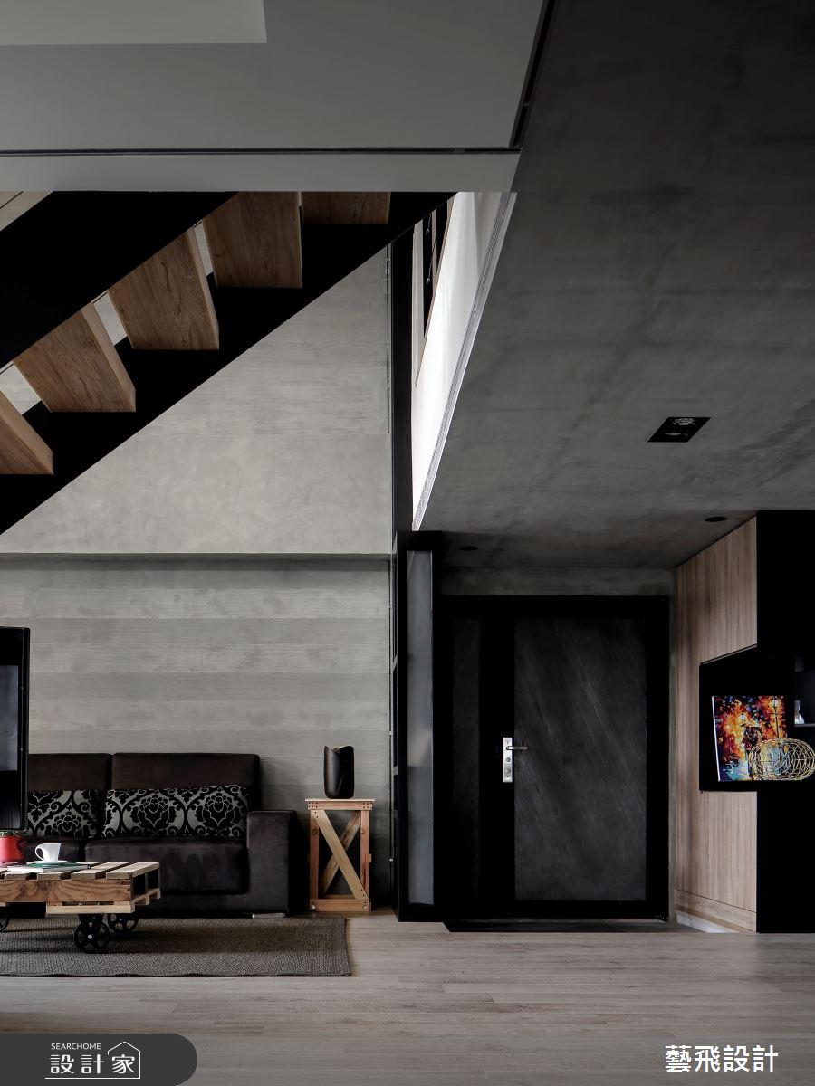 84坪老屋(16~30年)_工業風案例圖片_藝飛室內設計有限公司_藝飛_08之4