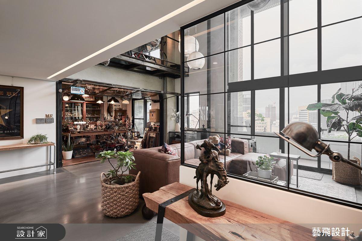 73坪老屋(16~30年)_美式風案例圖片_藝飛室內設計有限公司_藝飛_14之2