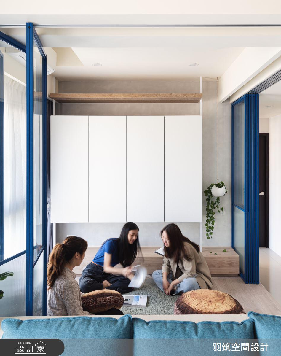 23坪新成屋(5年以下)_混搭風案例圖片_羽筑空間設計_羽筑_09雙學院之6