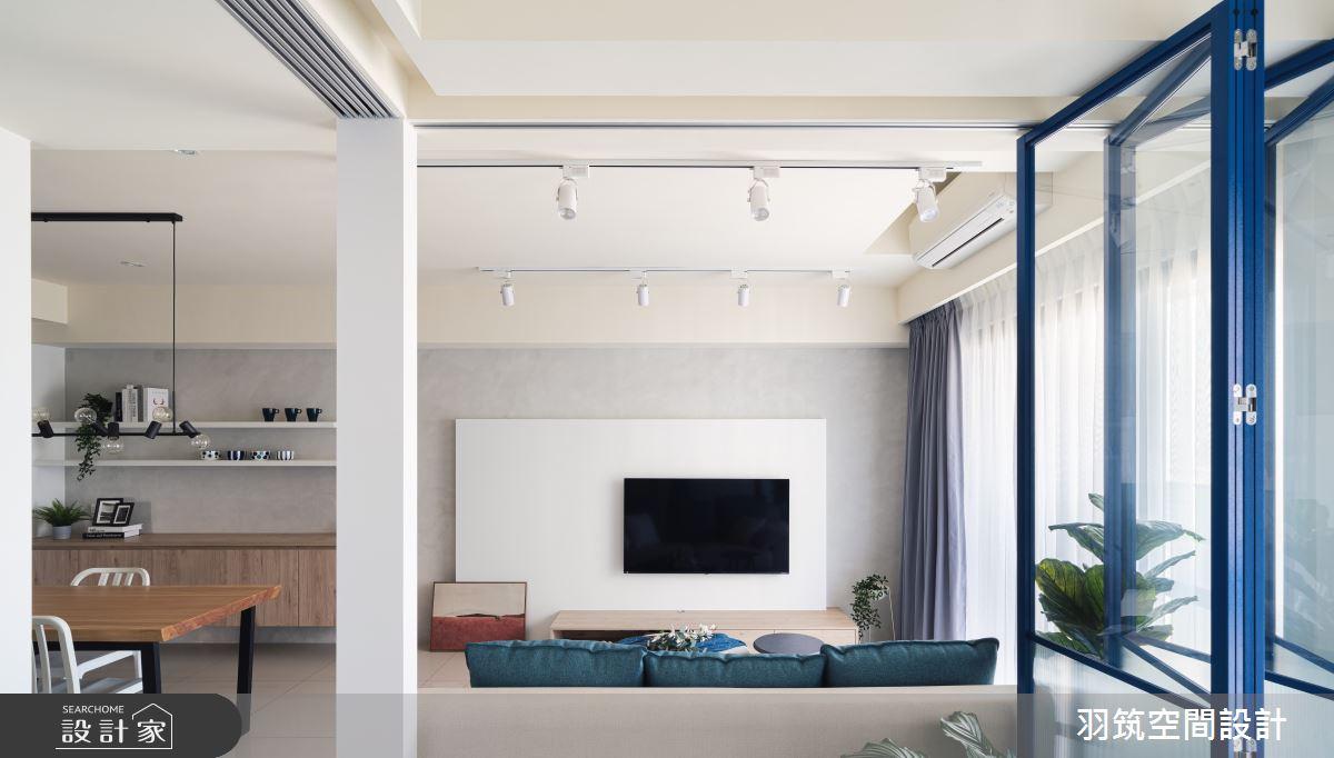 23坪新成屋(5年以下)_混搭風案例圖片_羽筑空間設計_羽筑_09雙學院之11