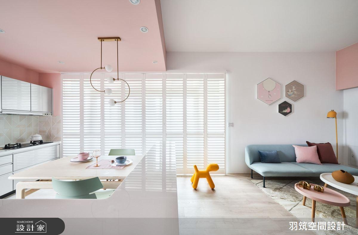 28坪新成屋(5年以下)_北歐風案例圖片_羽筑空間設計_羽筑_10之2