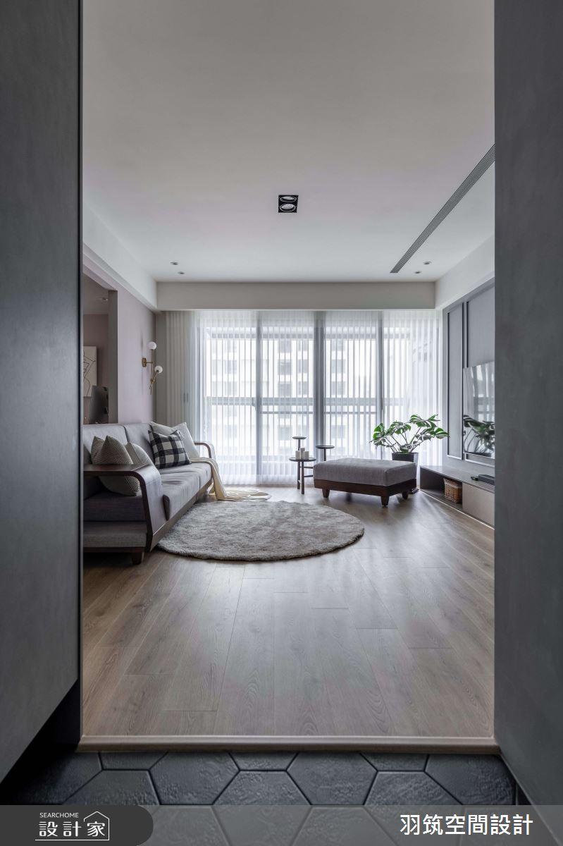43坪新成屋(5年以下)_混搭風案例圖片_羽筑空間設計_羽筑_13之2