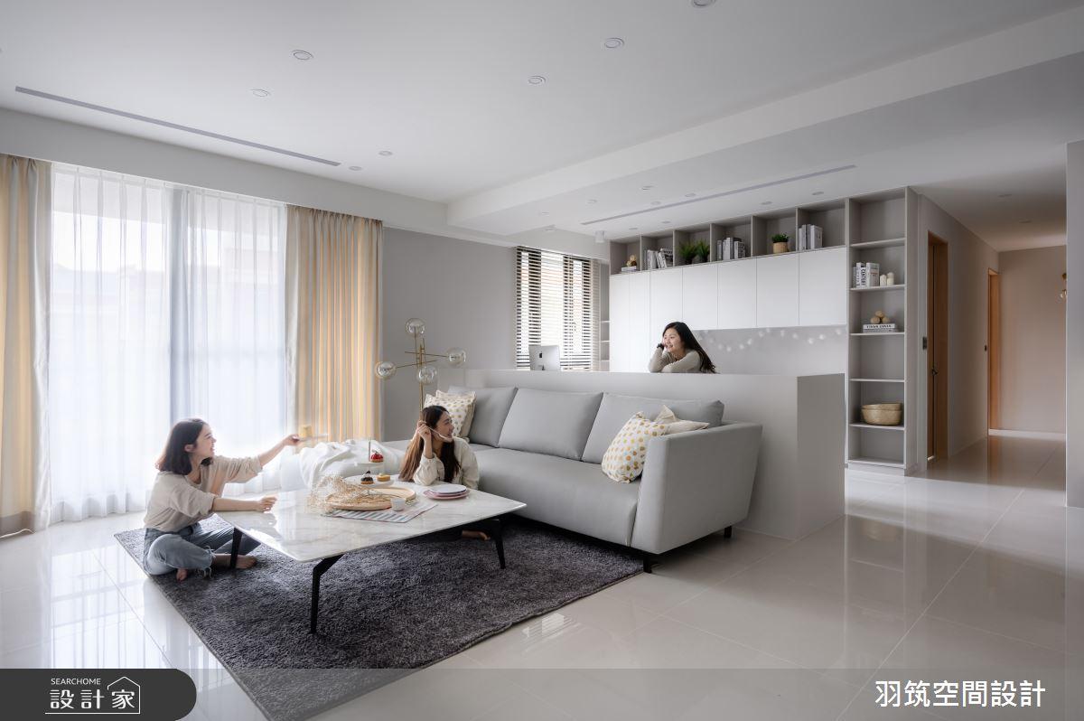 44坪新成屋(5年以下)_北歐風案例圖片_羽筑空間設計_羽筑_15之5