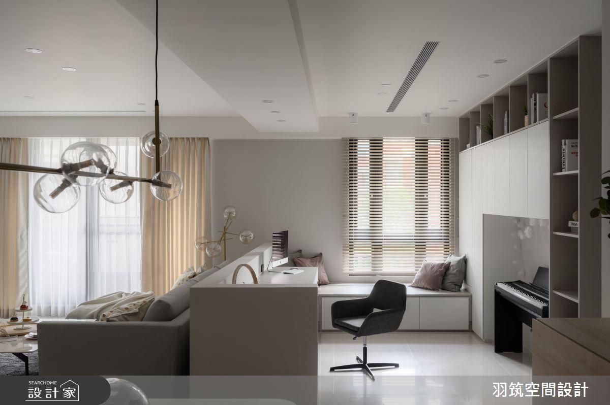 44坪新成屋(5年以下)_北歐風案例圖片_羽筑空間設計_羽筑_15之8