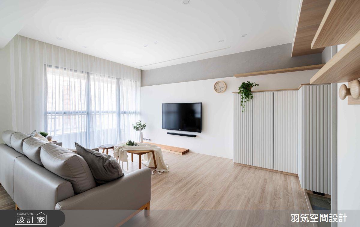 31坪新成屋(5年以下)_日式無印風案例圖片_羽筑空間設計_羽筑_16之1