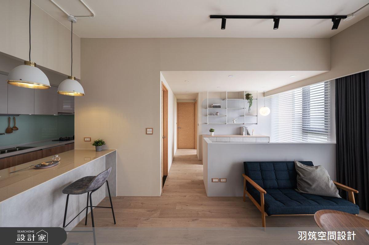 20坪新成屋(5年以下)_北歐風案例圖片_羽筑空間設計_羽筑_22之1