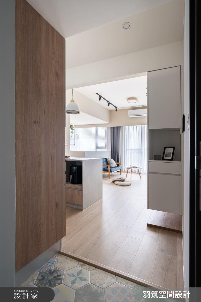20坪新成屋(5年以下)_北歐風案例圖片_羽筑空間設計_羽筑_22之2