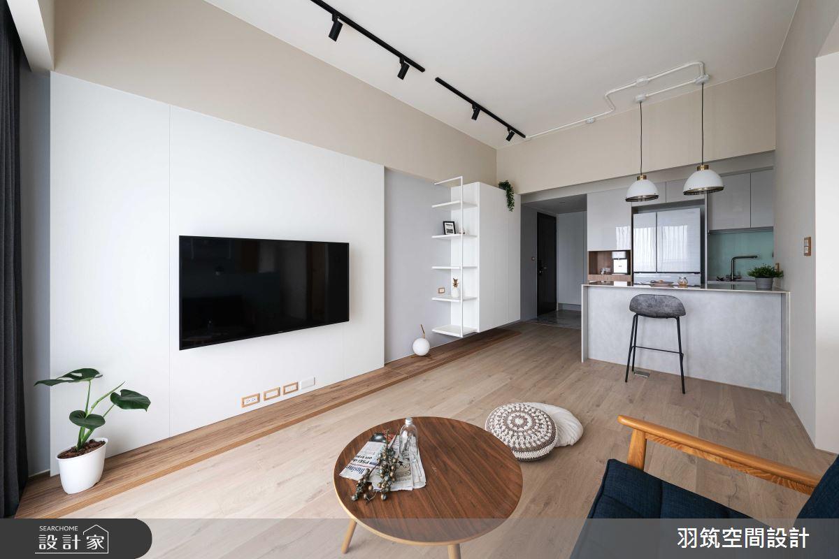20坪新成屋(5年以下)_北歐風案例圖片_羽筑空間設計_羽筑_22之4