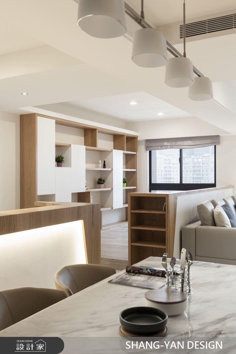 30坪新成屋(5年以下)_北歐風案例圖片_上硯空間建築_上硯_人文質感清新宅之4