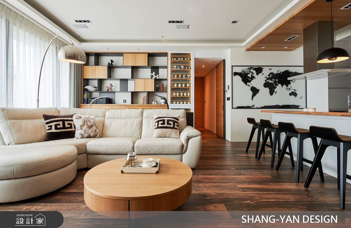 41坪新成屋(5年以下)_北歐風案例圖片_上硯空間建築_上硯_品味空間之5