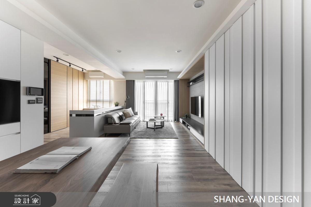 30坪新成屋(5年以下)_北歐風案例圖片_上硯空間建築_上硯_徜徉自在之2