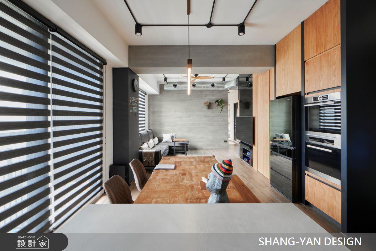 30坪新成屋(5年以下)_工業風案例圖片_上硯空間建築_上硯_敞 敘之2