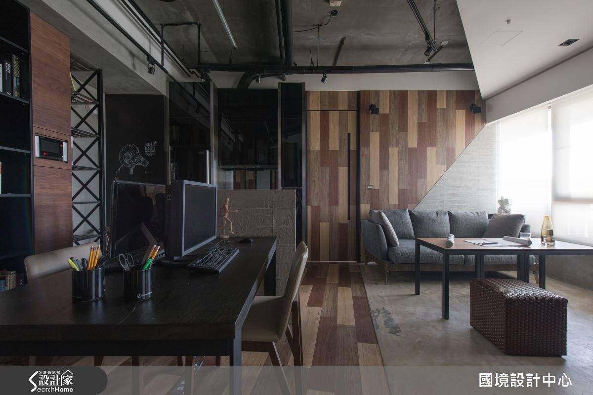 20坪新成屋(5年以下)_工業風案例圖片_國境設計有限公司_國境設計中心—都峰苑-Home-Studio之2