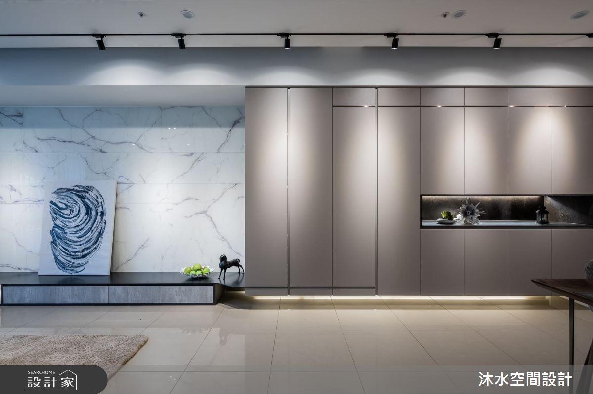 40坪新成屋(5年以下)_混搭風案例圖片_沐水空間設計_沐水_05之4