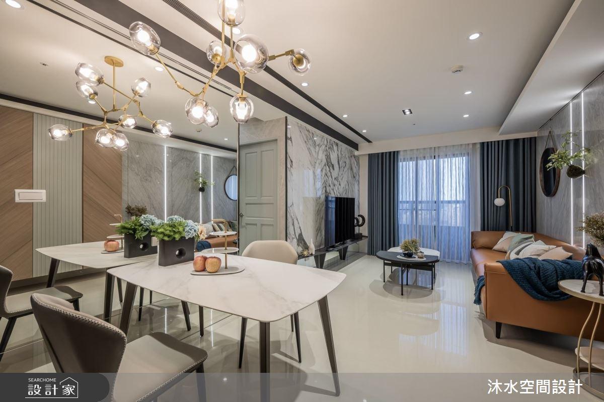25坪新成屋(5年以下)_混搭風案例圖片_沐水空間設計_沐水_11之1