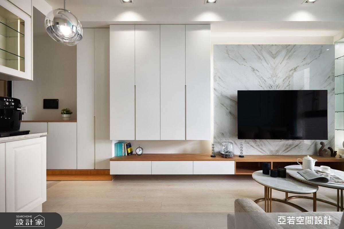 20坪新成屋(5年以下)_美式風案例圖片_亞若設計有限公司_亞若_01之1