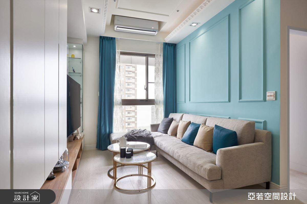 20坪新成屋(5年以下)_美式風案例圖片_亞若設計有限公司_亞若_01之3