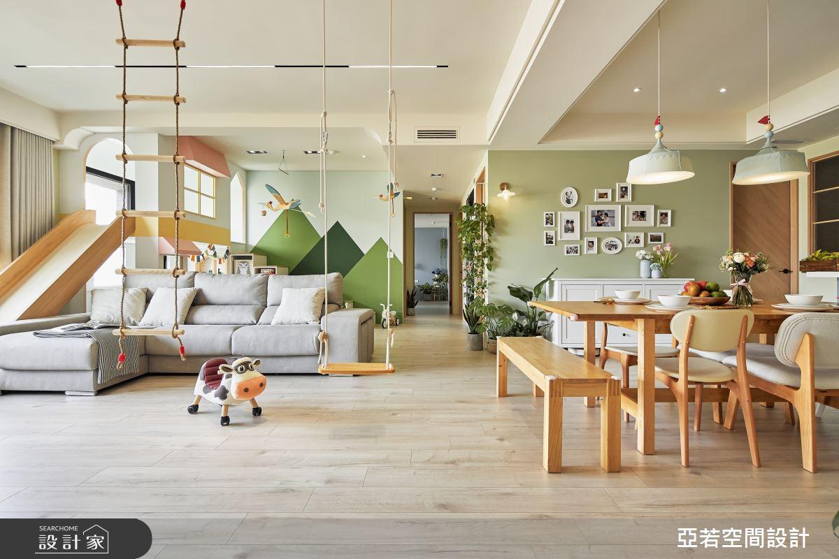 46坪新成屋(5年以下)_北歐風案例圖片_亞若設計有限公司_亞若_02之3