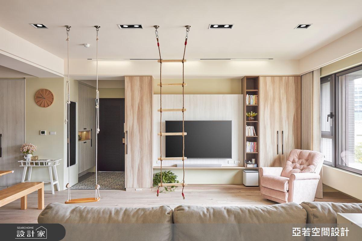 46坪新成屋(5年以下)_北歐風案例圖片_亞若設計有限公司_亞若_02之2