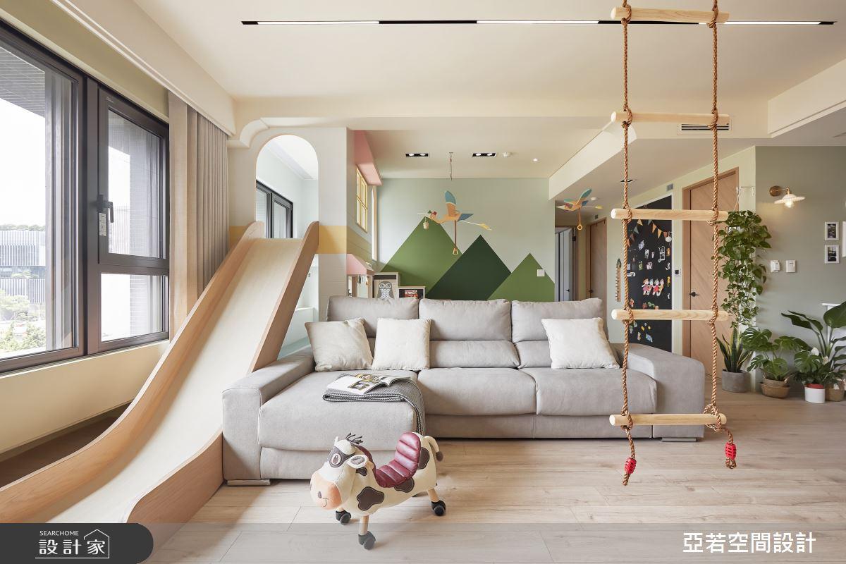 46坪新成屋(5年以下)_北歐風案例圖片_亞若設計有限公司_亞若_02之5