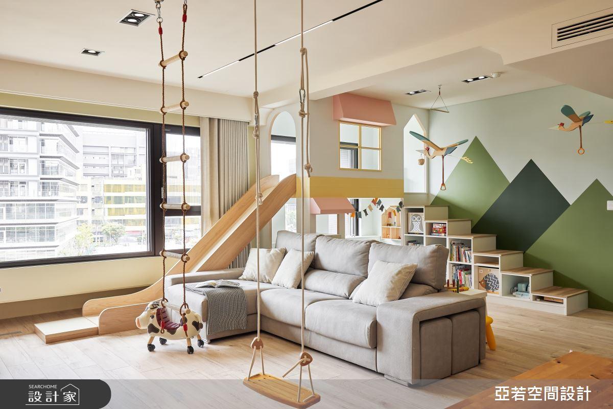 46坪新成屋(5年以下)_北歐風案例圖片_亞若設計有限公司_亞若_02之4