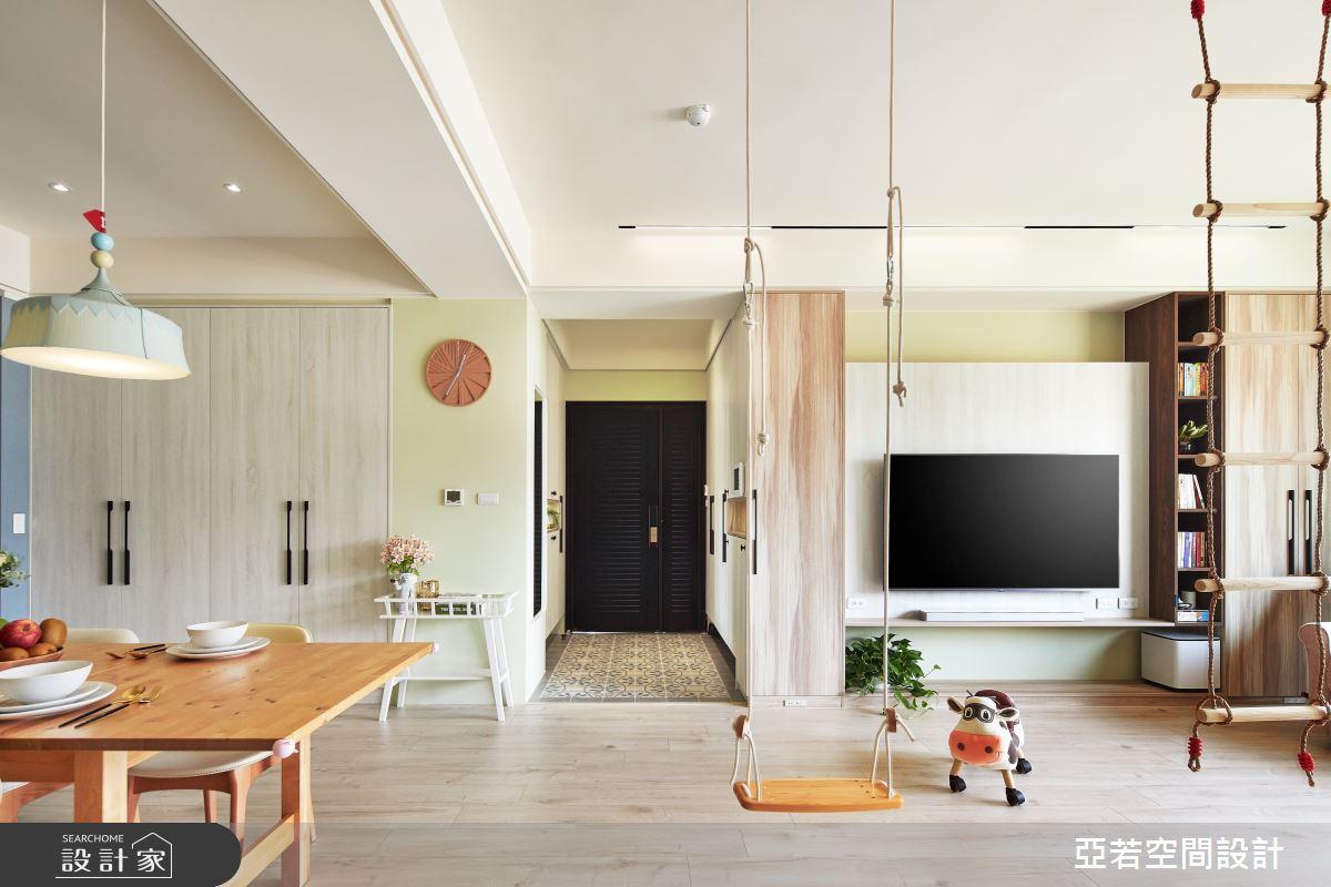 46坪新成屋(5年以下)_北歐風案例圖片_亞若設計有限公司_亞若_02之1