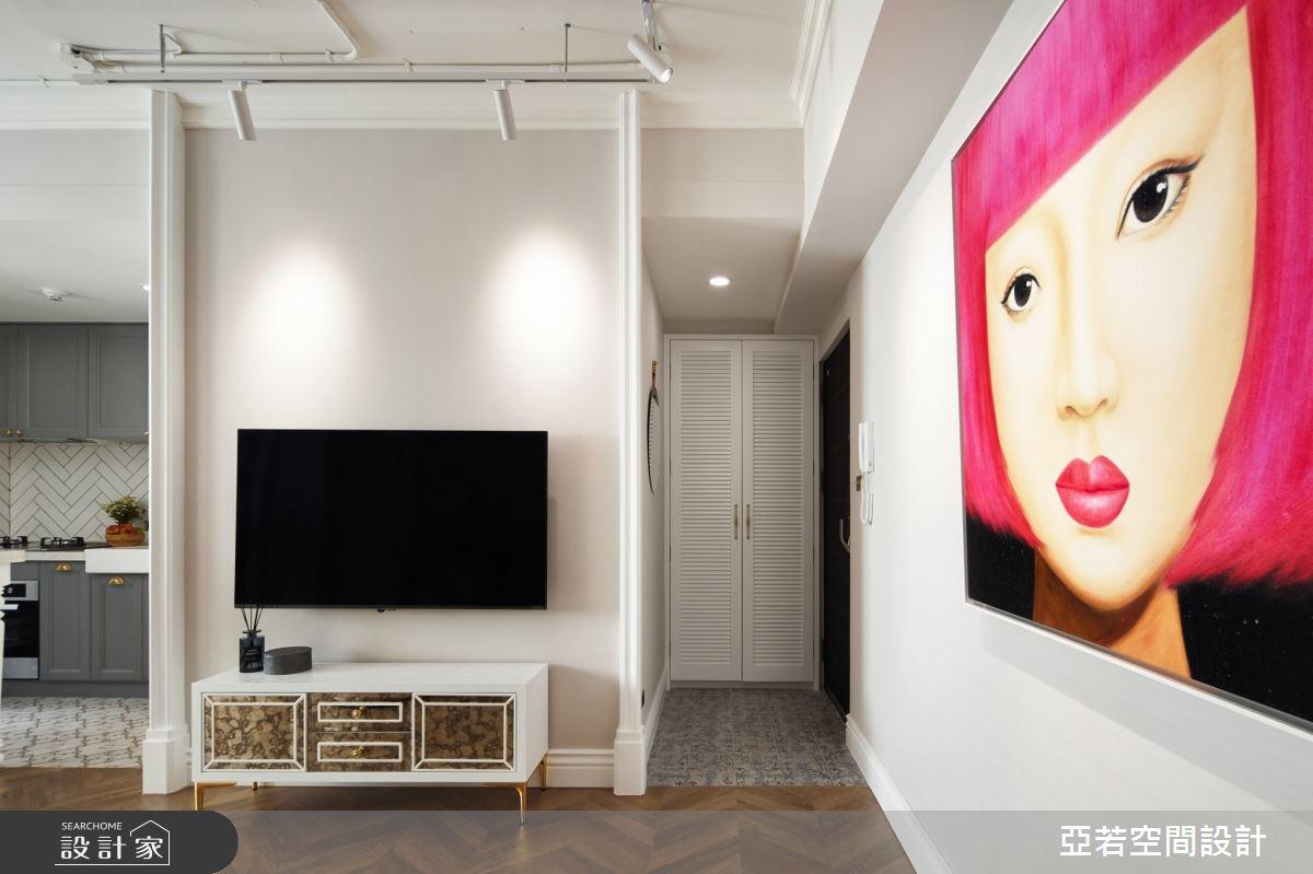 14坪中古屋(5~15年)_美式風案例圖片_亞若設計有限公司_亞若_03之1