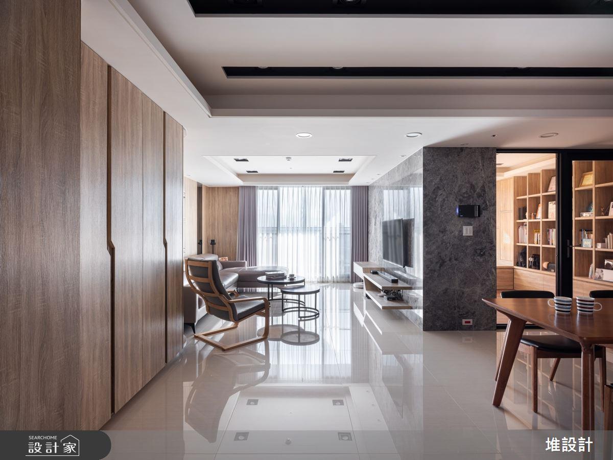34坪新成屋(5年以下)_現代風案例圖片_堆設計室內裝修_堆設計_01之5