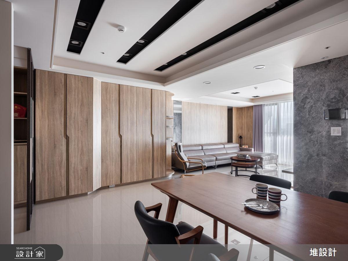 34坪新成屋(5年以下)_現代風案例圖片_堆設計室內裝修_堆設計_01之6