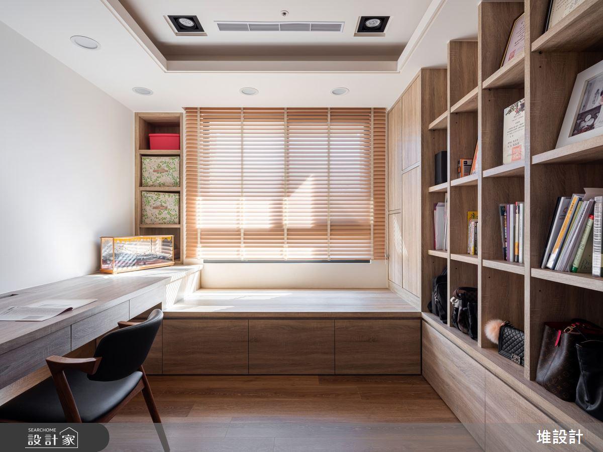 34坪新成屋(5年以下)_現代風臥室案例圖片_堆設計室內裝修_堆設計_01之18