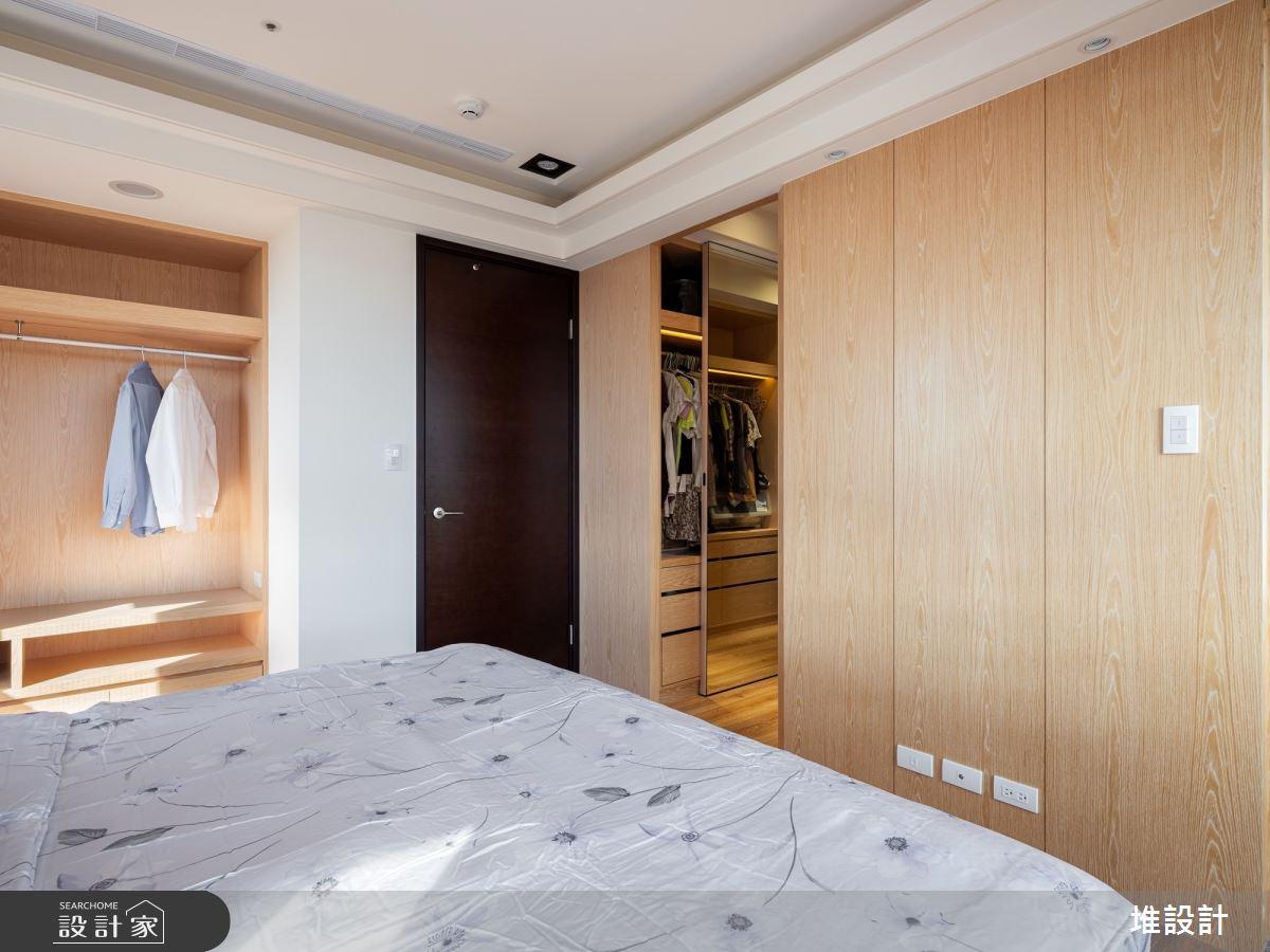 34坪新成屋(5年以下)_現代風臥室案例圖片_堆設計室內裝修_堆設計_01之25
