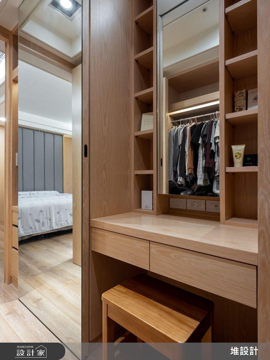 34坪新成屋(5年以下)_現代風臥室案例圖片_堆設計室內裝修_堆設計_01之26