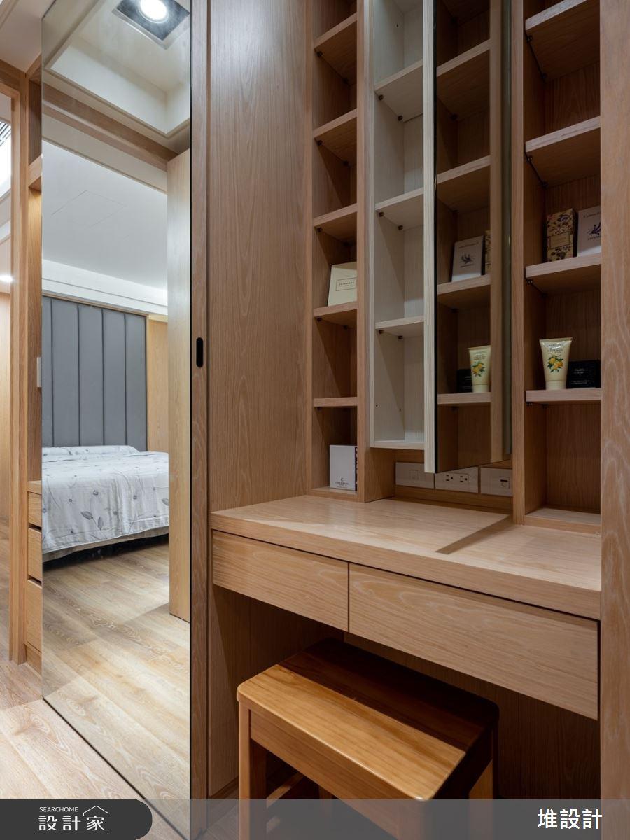34坪新成屋(5年以下)_現代風臥室案例圖片_堆設計室內裝修_堆設計_01之27