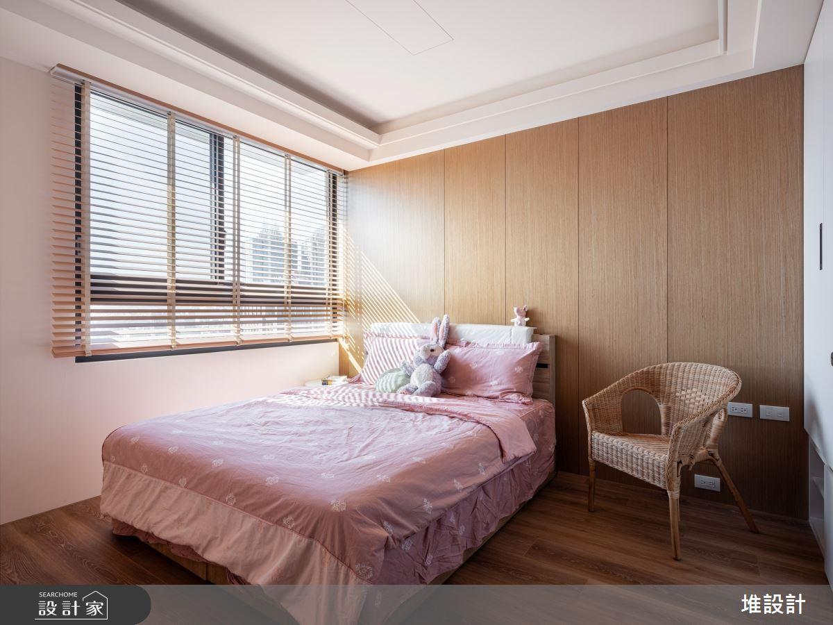 34坪新成屋(5年以下)_現代風臥室案例圖片_堆設計室內裝修_堆設計_01之29