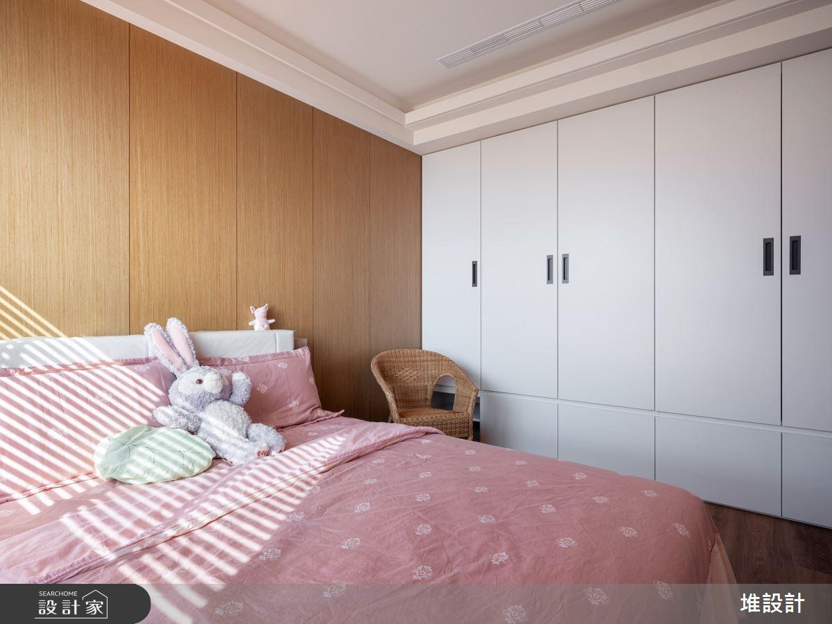 34坪新成屋(5年以下)_現代風臥室案例圖片_堆設計室內裝修_堆設計_01之31