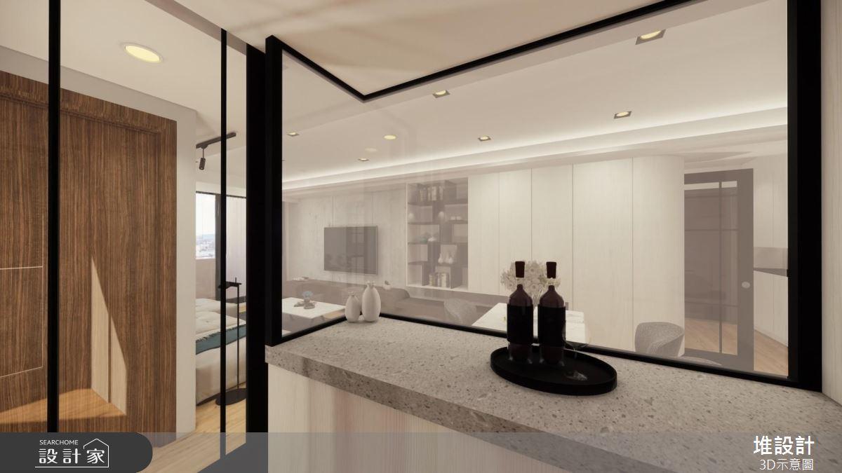 42坪新成屋(5年以下)_現代風吧檯案例圖片_堆設計室內裝修_堆設計_03之6