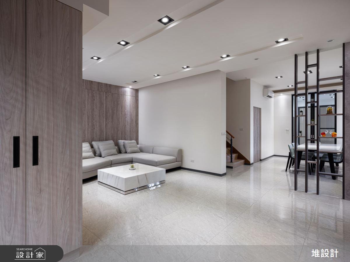 110坪老屋(41~50年)_現代簡約風客廳案例圖片_堆設計室內裝修_堆設計_07之4